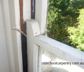 sash window in need of sash cord relacement